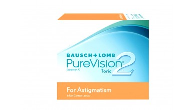 PureVision2 (PV2HDA) Toric Monthly Disposable (6 Lens Per Box)