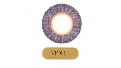 Lacelle Premium Monthly Disposable (2 Lens Box) Violet