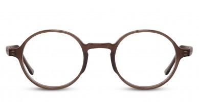 Acetate Round Brown Transparent Baby Eyeglass (Medium)