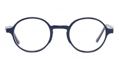 Acetate Round Blue White Baby Eyeglass (Medium)