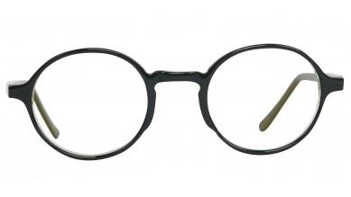 Acetate Round Black Green Baby Eyeglass (Medium)