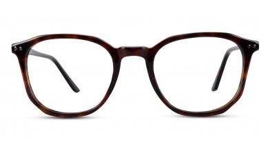 Acetate Square DA-Brown Eyeglass (Medium)