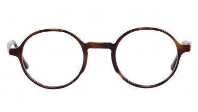 Acetate Round Brown Texure Baby Eyeglass (Medium)