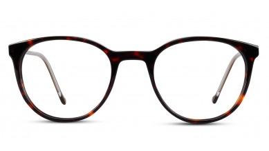 Acetate Round DA-Brown Eyeglass (Small)