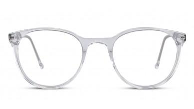 Acetate Round Crystal Eyeglass (Small)