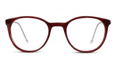 Acetate Round Wine-Brown Eyeglass (Small)