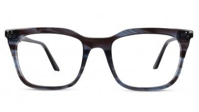 Acetate Retro Square Gre-Brown Eyeglass (Medium)