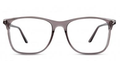 Acetate Square Crystal Grey Eyeglass (Medium)