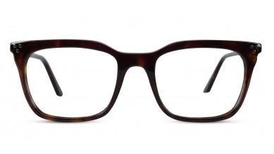 Acetate Retro Square DA-Brown Eyeglass (Medium)