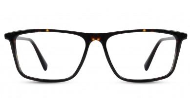 Acetate Rectangle DA-Brown Eyeglass (Large)