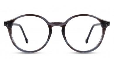 Acetate Round DA-Grey Eyeglass (Small)