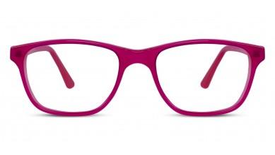 Acetate Rectangle Pink Baby Eyeglass (Medium)