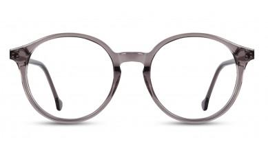 Acetate Round Crystal Grey Eyeglass (Small)