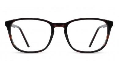 Acetate Rectangle DA-Brown Eyeglass (Medium)