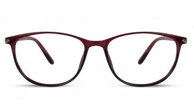 TR90 Oval Wine Eyeglass (Medium)