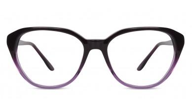 Acetate Cat-Eye Purple Gleder Eyeglass (Large)