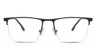 Metal Rectangle Copper Blue Eyeglass (Large)