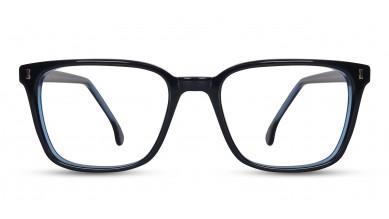 Acetate Rectangle Blue Eyeglass (Medium)