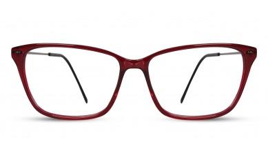 Acetate Square Wine Eyeglass (Medium)