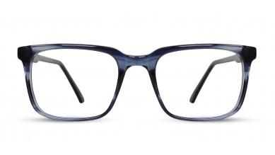 Acetate Rectangle DA-Blue Eyeglass (Medium)