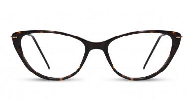 Acetate Cat-Eye DA-Brown Eyeglass (Medium)