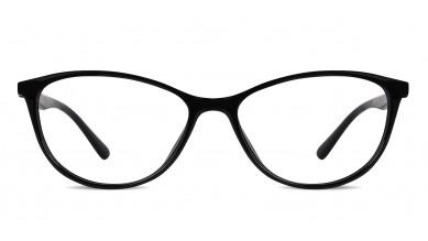 TR90 Cat-Eye Black-Red Eyeglass (Medium)