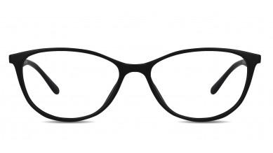 TR90 Cat-Eye Black-Blue Eyeglass (Medium)