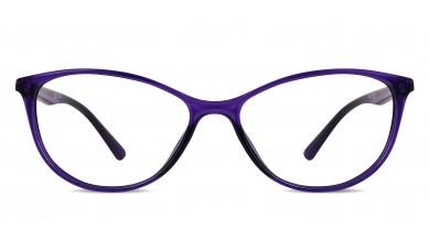 TR90 Cat-Eye Purple Eyeglass (Medium)