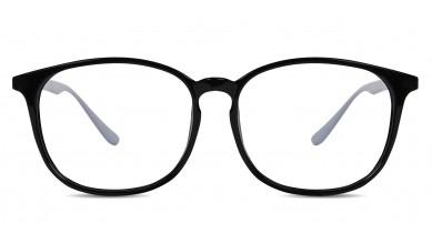 TR90 Round Black-Grey Eyeglass (Small)