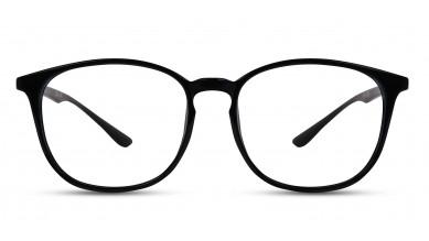 TR90 Round Blue-Transparent Eyeglass (Small)