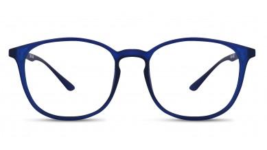 TR90 Round Blue Eyeglass (Small)