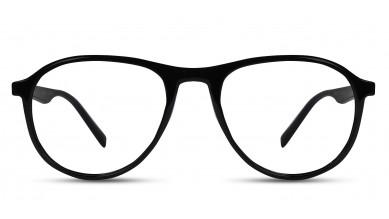 TR90 Aviator Shine Black Eyeglass (Medium)