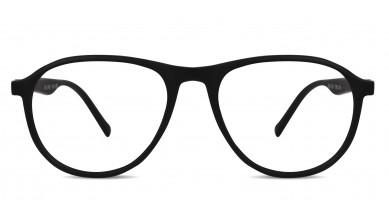 TR90 Aviator Blue-Black Eyeglass (Medium)