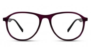 TR90 Aviator Purple-Black Eyeglass (Medium)