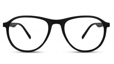 TR90 Aviator Black Eyeglass (Medium)