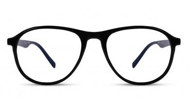 TR90 Aviator Black-Blue Eyeglass (Medium)