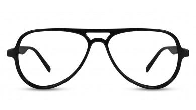 TR90 Aviator Black-Wine Side Eyeglass (Medium)