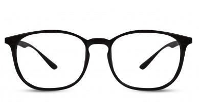 TR90 Round Black Eyeglass (Small)