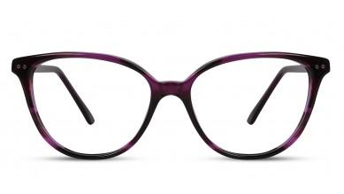 Acetate Cat-Eye Purple Eyeglass (Medium)