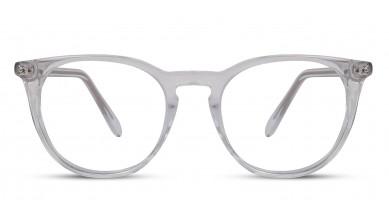 Acetate Round Crystal Eyeglass (Medium)