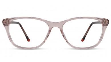 Acetate Cat-Eye Light Peach Eyeglass (Medium)